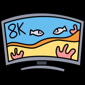 8k Televisie